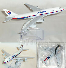 Malaysia Airlines Boeing 747 Airplane 16cm DieCast Plane Model