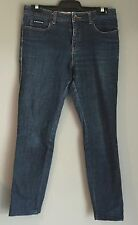 Pre-owned GIORDANO Blue Denim Straight Leg Jeans Size 27