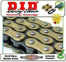 NEW DID GOLD LINK CHAIN 520DZ DZ2 120 LINKS & CLIP LINK CLASSIC RACING RACE USE