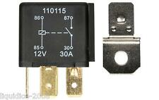 AUTOMOTIVE 12V 30 AMP 40 5 PIN RELAY DC CHANGEOVER CAR BOOT BIKE MOTORCYCLES