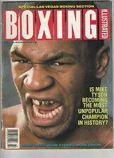 BOXING ILLUSTRATED MAGAZINE MIKE TYSON BOXING HOFer COVER OCTOBER 1988