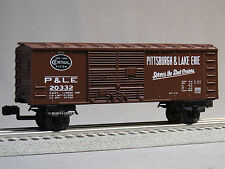 LIONEL P&LE NYC BOXCAR O GAUGE prr junction train pittsburgh lake 6-82972 B NEW