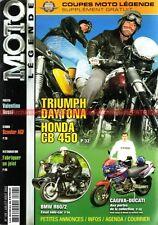 MOTO LEGENDE 126 HONDA CB 450 TRIUMPH T100 BMW R60/2 DUCATI 750 GT Barry SHEENE