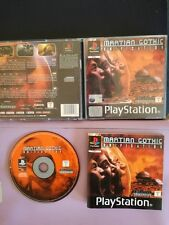 MARTIAN GOTHIC unification PS1 PLAYSTATION 1 PSX PAL ITALIANO COMPLETO