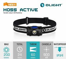 Olight H05S Active Headlamp Headtorch CREE XM-L2 LED AAA Gesture Control 200 LM