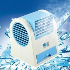 USB Portable Mini Ice Cooled Small Desktop Air Conditioner Bladeless Fan