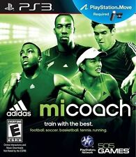 Mi Coach (Playstation PS3 Adidas PS Move Motion Fitness Excercise Train) NEW