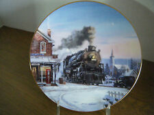 """""""Morning Star"""" Train Collector Plate - Romance of the Rails Plate Collection"""