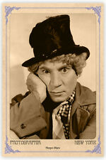 Screen Comedy Legend HARPO MARX Vintage Photograph A++ Reprint Cabinet Card CDV