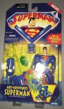 Superman Animated Series Anti-Kryptonite Superman action figure in Package