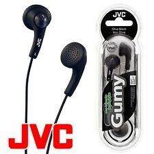 JVC Gumy Gummy HA-F150 In-Ear Canal Earbuds Headphones Earphones Olive Black