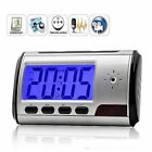 HD Video DVR Digital Alarm Clock spy Nanny Camera Recorder Motion Detector Black