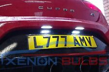LED Number License Plate Light  SEAT LEON CUPRA FR  18 SMD CANBUS k1 btcc