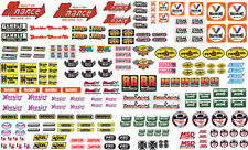 Model Car Parts Contingency Racing Decals 1/24 1/25 1/18 Diecast Sprint Slot Car