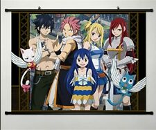 Fairy Tail Natsu Dragnir Home Decor Anime Japanese Poster Wall Scroll Art Whole