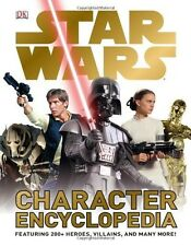 Star Wars Character Encyclopedia by DK Publishing (Hardcover) FREE SHIPPING BAM