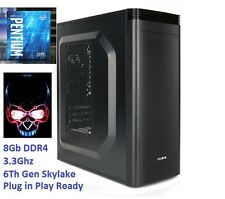 Gaming Computer Intel Skylake G4400 8GB DDR4 320GB HDD Desktop Windows 7 CSGO
