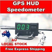 2017 Universal GPS HUD Head Up Display MPH/ KM/h Speed Limit Warning Plug & Play