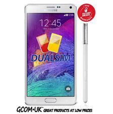 Samsung Galaxy Note 4 N9100 Dual Sim - Factory Unlocked (White) + Warranty