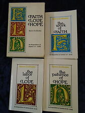 * 3 RARE FAITH LOVE AND HOPE TRILOGY BOOKS by SPIROS ZODHIATES * UK POST £3.25*