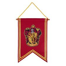 Wizarding World of Harry Potter Gryffindor House Banner  with Embroidered Crest