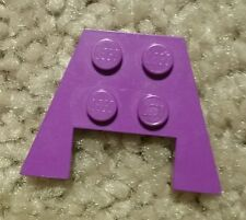 LEGO Purple Wedge Plate 3x4 Cut Corners Part 4859 - RARE