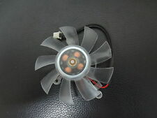 2 Pin 55mm 5.5cm 3 Hole Type A VGA Cooler Video Graphics Card Cooling Fan