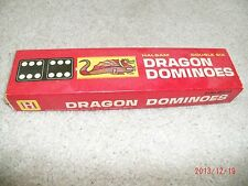 Vintage 70's Boys/Girls Halbam Dragon with Instructions Dominos Ages 5-7