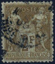 FRANCE SAGE N° 105 LEGERE OBLITERATION