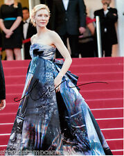 """Cate Blanchett Colour 10""""x 8"""" Signed 'Red Carpet & Dress' Photo - UACC RD223"""