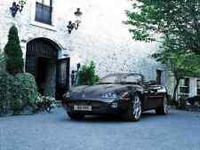 Signe de métal Jaguar XK 009 A4 12x8 aluminium