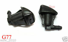Toyota Sienna Corolla Wiper Washer-Windshield-Nozzle Spray Washer Pair 2004-2011