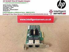HP nc360t PCI Express Dual Port Gigabit Server Adattatore * Basso profilo * 412648-b21