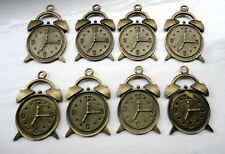 ZPX03 Embellishments Clocks Antique Bronze Jewellery Card Making Crafters Charms