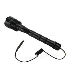 Trustfire 6000LM 3XCREE XM-T6 LED Flashlight Torch Hunting Light+Pressure Switch