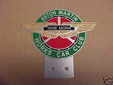 Aston Martin Sine Mora License Plate Topper
