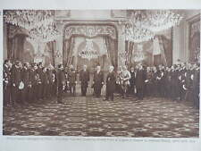 1919 ADMIRAL BEATTY RECEIVES LEGION OF HONOUR FROM POINCARE IN PARIS WW1 WWI