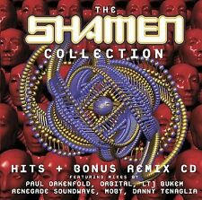 The Shamen 2 CD SET. BEST OFCollection ..RARE GREATEST HITS AND REMIXES