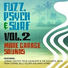 Fuzz Psych & Surf 2: More Garage Sounds - Various Artist (2016, CD NEUF)