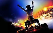 Stampa incorniciata-f1 Racing Champion (PICTURE POSTER MOTOR SPORT Formula 1 ART)