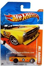 2011 Hot Wheels Track Stars #70 Triumph TR6 ERROR car