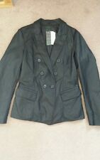 STILE BENETTON Woman faux leather jacket.NEW with tag. size 44. RRP £109. black