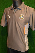LUTON TOWN THE HATTERS PUMA TRAINING FOOTBALL SHIRT (S) JERSEY TOP TRIKOT MAGLIA