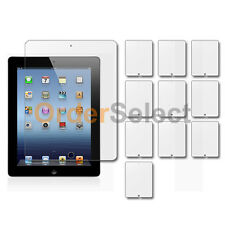 10X Clear LCD Screen Guard Protector for Apple iPad 3 3rd Generation Tablet 9.7""