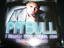 Pitbull I Know You Want Me (Calle Ocho) Australian CD Single – Like New