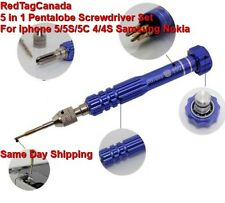 5 in 1 Pentalobe Screwdriver Set For iphone 5/5S/5C 4/4S Samsung Nokia - Canada