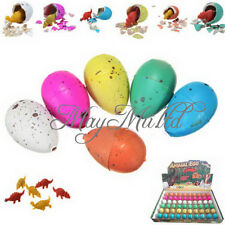 5pcs Cute  Magic Growing Dino Egg Add Water Hatching Dinosaur Egg Toys