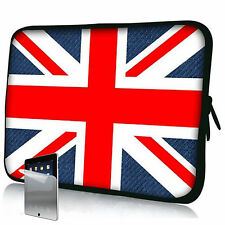 "Union Jack Neoprene Case Bag pouch For Galaxy Tab 2 7"" P3100 P3110 & Screen Pro"