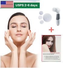 Electric Vanity Spin For Perfect Skin Face Facial Cleansing Brush Exfoliating US
