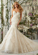 Brand New Mori Lee Bridal Gown Style 2801 free shipping